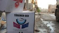 Türk ve Amerikan gıda yardım malzemeleri, Halep'teki teröristlere gönderildi