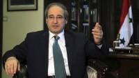 Mikdad: ABD ve Avrupa'nın teröristlere desteği, İsrail'in lehine