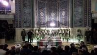 Tahran Plasko İş Merkezi Olayında Hayatını Kaybeden İtfaiye Erleri İçin Teşyi Töreni