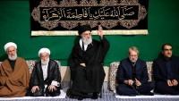 Mazlum ve Mustazafların Rehberi huzurunda hz Fatıma sa'ın şahadeti dolayısıyla ilk yas gecesi merasiminin düzenlendi