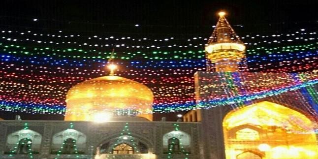 Mutahhar Rezevi Türbe'de İmam Cevad (as)'ın kutlu doğum yıldönümü kutlama töreni