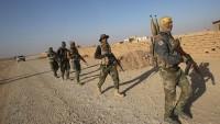 Irak halk direniş güçleri Haşdüşşabi'nin Cihad Ruhuyla DAEŞ'i imha Harekatı