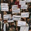 Almanya halkından sığınmacıların sınır dışı edilmesine protesto