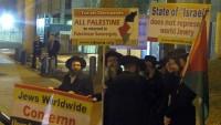 Washington'da siyonist rejim karşıtı gösteri