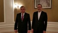 Cabir Ensari, Rusya ve Suriye heyetleriyle görüştü