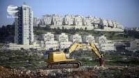 Siyonist İsrail 1600 konut daha yapıyor
