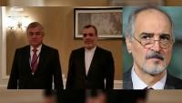 Astana'da İran heyeti, Rusya ve Suriye heyetleriyle görüştü