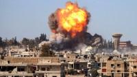 Büyük Şeytan Amerika ittifakı, Musul'da sivilleri bombaladı