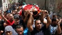 Siyonist İsrail askerlerinin saldırısında 1 Filistinli daha şehit oldu