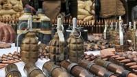 Şam çevresinde İngiliz silahları yüklü iki kamyon ele geçirildi