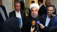 İslami İran Cumhurbaşkanı kimsesizler yurdu ve engellileri ziyaret etti