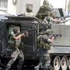 Suriye-Lübnan sınırlarında teröristler birbirleri ile çatışıyorlar