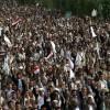 Yemenli göstericiler el-Hodide limanına ulaştılar