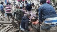 Kolombiya'daki toporak kaymasında 154 kişi hayatını kaybetti