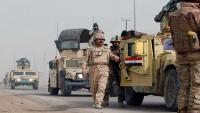 Irak güçleri teröristlere karşı ilerlliyor