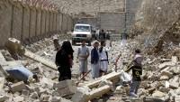 Yemen Suudi uçaklarınca bombalanıyor