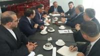 Şemhani Moskova'da Türkiye ve G.Afrika güvenlik yetkilileriyle görüştü