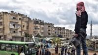Bin terörist Şam'ın Berze mahallesinden çekildi