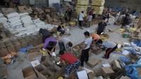 Ramazan ayı münasebetiyle İran'dan Gazze'ye gıda yardımı