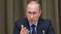 Putin: Suriye'de teröristlere silah satışı kaygı verici