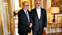 İran ve Fransa dışişleri bakanları arasında görüşme