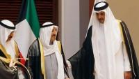 Kuveyt ile Katar emirleri görüştü