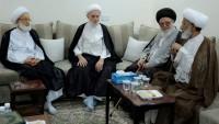 Bahreynli alimler, Şeyh İsa Kasım ile görüştüler
