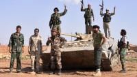 Suriye ordusu, düşen uçağın pilotunu kurtardı