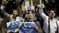 Mısır çok sayıda protestocuyu tutukladı