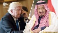 Trump, Salman ile Katar'ı görüştü!