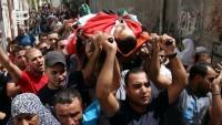 İsrail polisi Yafa'da bir Filistinliyi şehit ettiler
