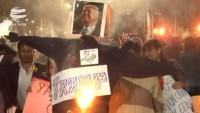 Bolivya halkından Venezuela devleti ve halkına destek gösterisi
