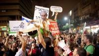 Netanyahu aleyhinde gösteri