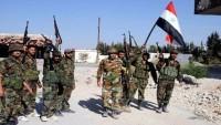 Suriye ordusu Deyrul'Zur'da ilerliyor