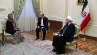 Brüksel: Mogherini'nin Tahran temasları çok olumlu geçti