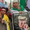 İran halkı ülkenin dört bir yerinde Trump'ı protesto etti
