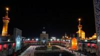 Mutahhar Rezevi Türbesin'de Aşura gecesi hutbe okuma merasimi düzenleniyor