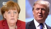 Trump ve Merkel nükleer anlaşmayı görüştü