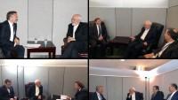 Zarif'in New York'ta BM genel kurul kulisinde görüşmeleri sürüyor
