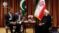 Ruhani: İslamabad ile tüm alanlarda ilişkileri geliştirmekten yanayız