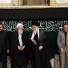 İmam Seyyid Ali Hamaney'in huzurunda Hüseyni Tasua merasimi düzenlendi