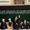 İmam Hüseyin as yas merasiminin ikinci gecesi Mazlum ve Mustazafların Rehberinin katılımıyla düzenlendi