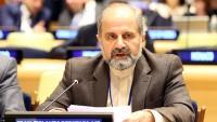 İran'ın BM nezdindeki Büyükelçisi İshak Al-i Habib: Hiçbir ülke başka ülkeleri meşru haklarından mahrum edemez