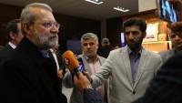 Laricani: İran ABD'liler'in tuzağına düşmeyecek