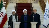 Ruhani: Amerikalılar, İran halkını umutsuzluğa sevk etmek istiyorlar