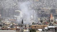 Silahlı gruplardan Suriye'nin Şam banliyösüne saldırı