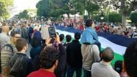 Tunus'ta Balfour Deklarasyonu protestosu