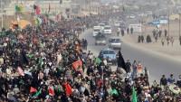 İslami İran geneli Erbainde mateme gark oldu