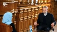 Laricani: İran bölgeyle huzurlu ve barış içinde olmanın peşinde