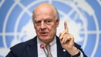 BM Suriye Özel Temsilcisi, Suriye krizinin siyasi ve görüşmeler yoluyla çözümlenmesini istedi
